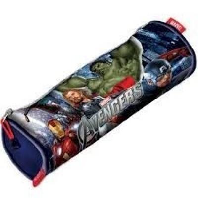 Estojo escolar redondo Avengers Marvel Revenge