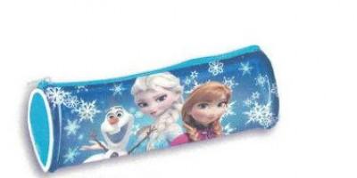 Estojo escolar redondo Frozen Friends