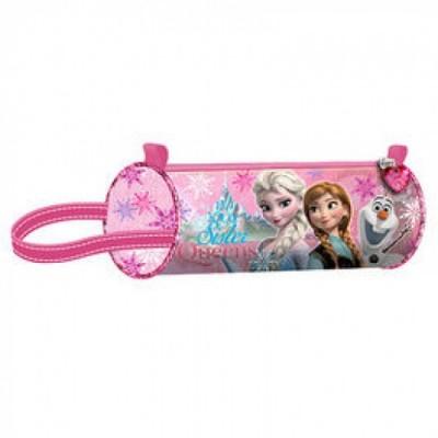 Estojo escolar redondo Frozen Sister Queen Pink