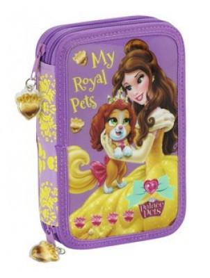 Estojo Plumier Disney Princesas Pets