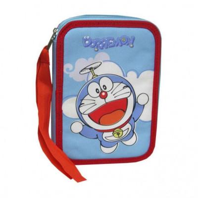 Estojo Plumier dulplo Doraemon