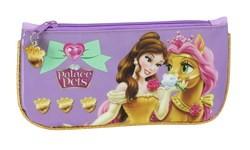 Estojo simples Princesas Disney Pets