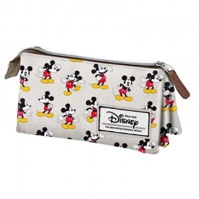 Estojo triplo Mickey Premium  - Original Vintage