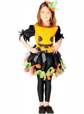 Fato Abobora Lady halloween