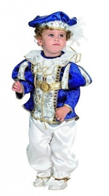 Fato Bebé Principe Azul