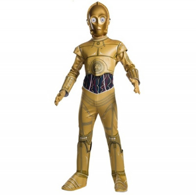 Fato C3PO Clássico   Carnaval   Star Wars