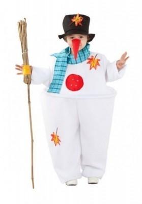 Fato Carnaval Boneco de Neve