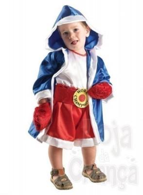 Fato Carnaval  Boxer bebé