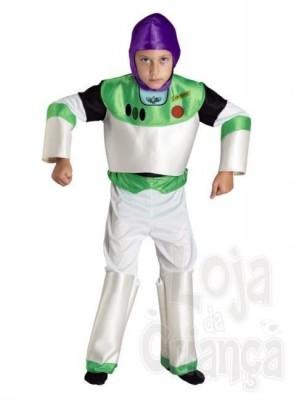 Fato Carnaval Buzz Lightyear toy story