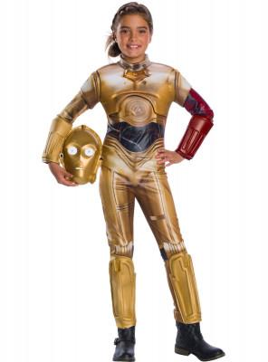 Fato Carnaval C3PO Infantil Star Wars