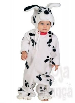 Fato Carnaval  cão dalmata