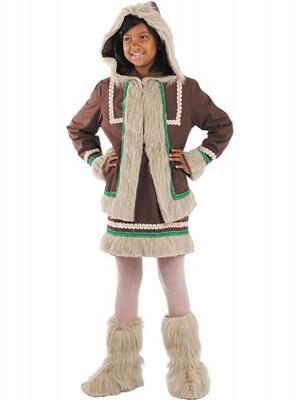 Fato Carnaval Esquimó Menina