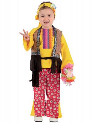 Fato Carnaval Hippie Menina