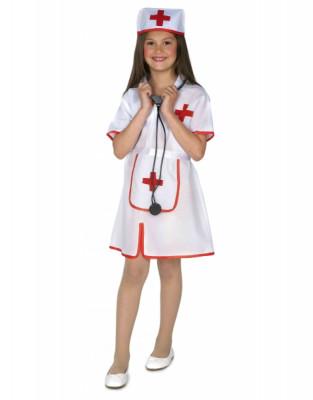 Fato Carnaval Menina Enfermeira