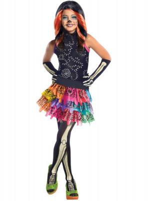 Fato carnaval Monster High Skelita Calaveras