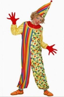 Fato Carnaval Palhaco Para Meninos
