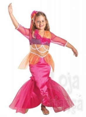 Fato Carnaval  pequena sereia