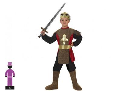 Fato Carnaval Rei Cavaleiro Medieval