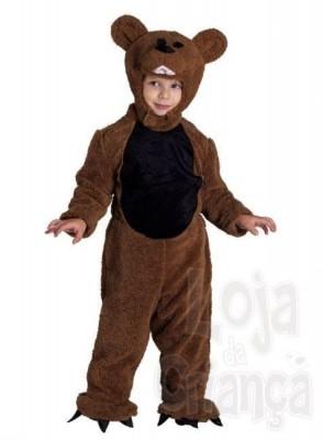 Fato Carnaval  Urso Pardo