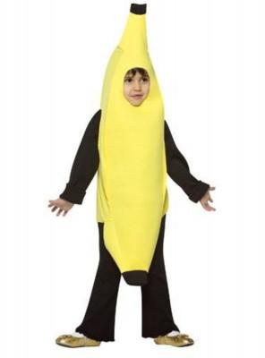 Fato de Banana para Criança