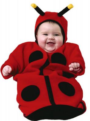 Fato de Bebé Joaninha