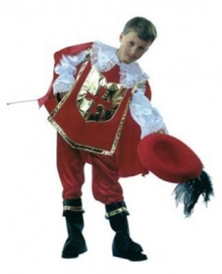 Fato de Carnaval Criança Mosqueteiro - Menino