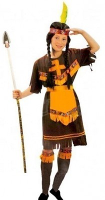 Fato de Carnaval India Menina