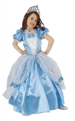 Fato de Carnaval Princesa Azul