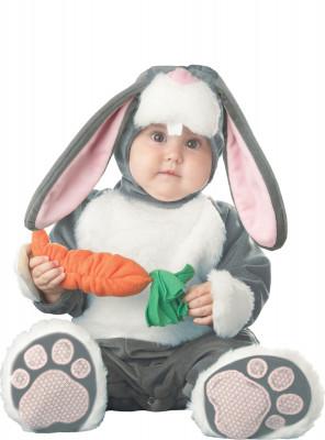 Fato de coelho bebé premium