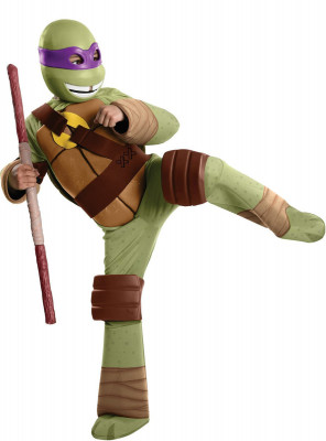 Fato de Donatello Tartarugas Ninja