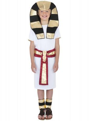 Fato de farao egipcio