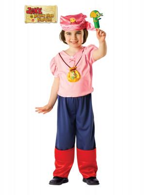 Fato de Izzy jake o pirata