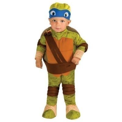 Fato de Leonardo Tartarugas Ninja bebé