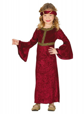 Fato de menina medieval