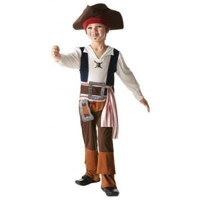 Fato de Pirata Jack Sparrow Menino