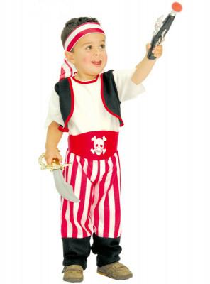 Fato de Piratinha Bebé