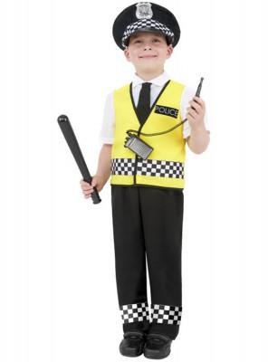 Fato de polícia inglês