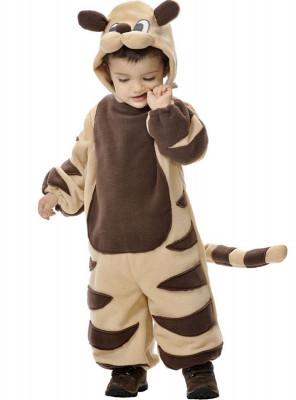 Fato de tigre bebé