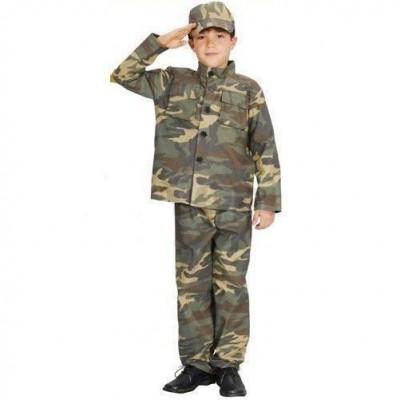 Fato de Tropa Soldado Camuflado