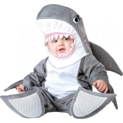 Fato de tubarão bebé luxo