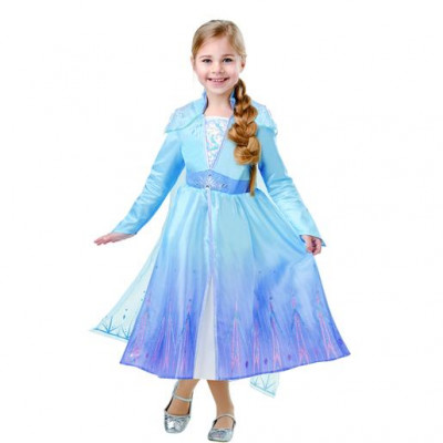 Fato Deluxe Elsa Frozen 2