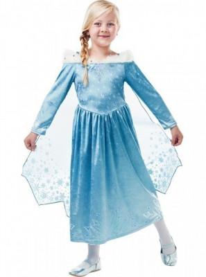 Fato deluxe inverno Elsa Frozen