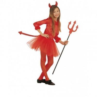 Fato Diabinha Moderna halloween