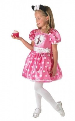 Fato Disney Minnie Cupcake