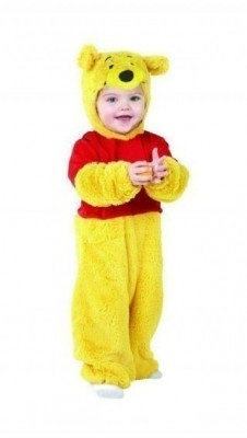 Fato Disney ursinho Winnie Pooh bebé
