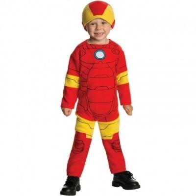 Fato Iron Man homem de ferro para bebé