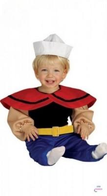 Fato Marinheiro Popeye Bébé