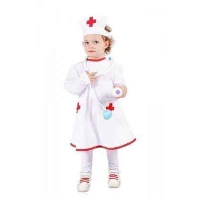 Fato menina enfermeira
