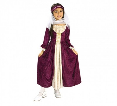 Fato Menina Medieval