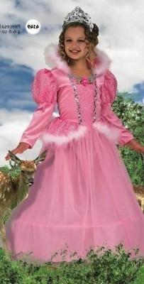Fato Menina Princesa Rosa